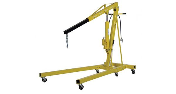 Portable Hydraulic Jib Crane : Bear claw portable jib crane