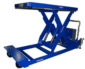 Portable Lift Table is available with capacities up to 6,000 lbs. These are ergonomic tables for transporting and raising materials efficiently.