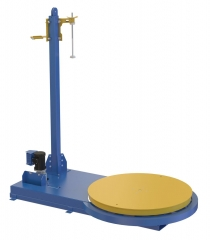 Medium Duty Machine Stretch Wrap unit is avaible with a 5000 lb capacity. Turn tables are avaiable in 54