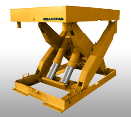 Hydraulic Lift Table - High Capacity Scissor Lift is designed to lift items and equipment up to 92