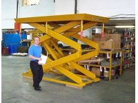Beacon World Class Upright Scissor Lift - BDSL series