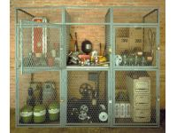 Beacon World Class Wire Mesh Lockers - BST series
