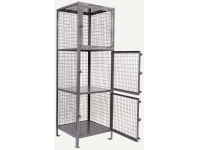 Beacon World Class Wire Storage Lockers - BJVSL series