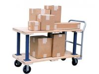 Beacon World Class Wood Platform Cart - BVHPT series