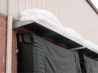 Dock Door Metal Hoods - MH series