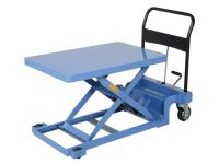 Low Scissor Lift Cart for easy access