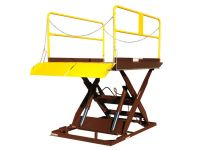 Loading Dock Lift is a heavy capacity scissor dock unit.