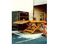 Scissor Lift Dock Leveler
