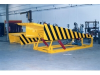 Slide Deck Dock Leveler is used for heavy duty applications.