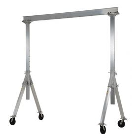Aluminum Gantry Crane with Air Tires - BAHA-PNU series