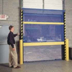 Bug Door Screen - Overhead Door Screen - BDBS series