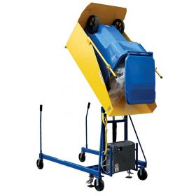 Industrial Trash Can Dumper - Hydraulic Trash Can Lifter - BTCD-U series
