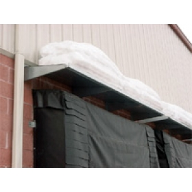 Dock Door Metal Hoods - Loading Door Hoods - MH series