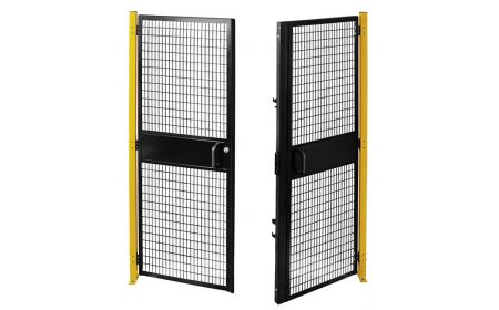 Beacon - Machine Guard Fencing - Woven Wire Mesh Panels BSAF-HP11858-PL