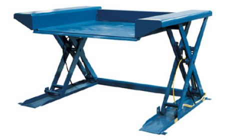 beacon world class ground lift table pallet lifting table rh beacontechnology com pallet lift table with ramp pallet lift table with rollers