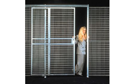 Wire Mesh Security Cage | Beacon World Class Equipment Cage Wire Mesh Security Cage Bs 1012